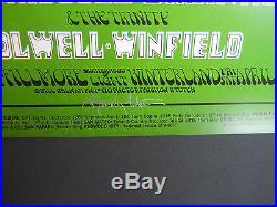 BG-170-OP-1 Tuten signed poster FD, AOR, Grateful Dead