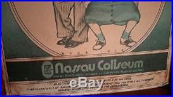 BG 288 Original THE GRATEFUL DEAD poster by DAVID BYRD Nassau Colisium 1973