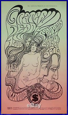BG 62 Grateful Dead Paupers 1967 Wes Wilson Fillmore Concert Poster