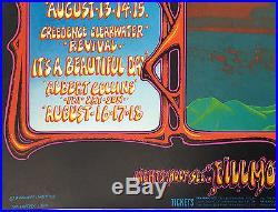 BG133 Grateful Dead The Who 1968 Fillmore Rick Griffin Concert Poster