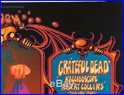 BG133 Who Grateful Dead Fillmore West Rick Griffin Alton Kelley Concert Poster