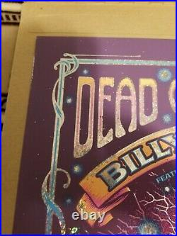 BILLY AND THE KIDS FOIL RED ROCKS PRINT #2/50 with Autograph Billy Deal Poster