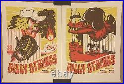 BILLY STRINGS 6/11 6/12 Shaumburg, IL Wintrust Field Print by Furturtle