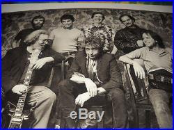 Bob Dylan Jerry Garcia Grateful Dead 1987 Herb Greene Photo Concert Poster-rare