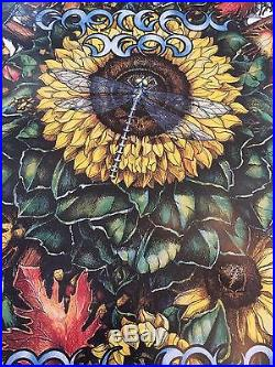 Beautiful Grateful Dead Poster 1995 cancelled fall tour limited edition