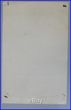 Bill Graham BG 41 1st Print Fillmore Poster Grateful Dead, Wes Wilson art