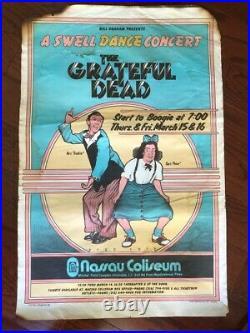 Bill Graham's Original Grateful Dead Swell Dance Fillmore Poster BG 288 1st