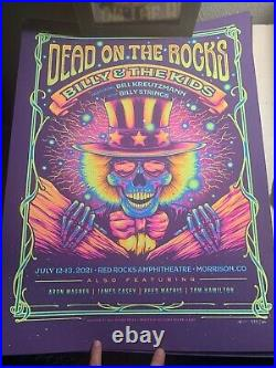 Billy And The Kids Poster Red Rocks
