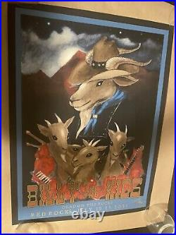 Billy And The Kids Red Rocks Print By Stanley Mouse- MINT Condition