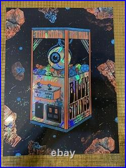 Billy Strings Foil Louisville Kentucky 2020 Feb. 7&8 signed and Numbered Poster