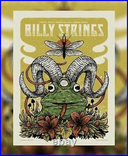 Billy Strings Legend Valley Thornville Ohio 6/26 Night Two Show Poster /300