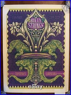 Billy Strings Tipitinas Louisiana Poster
