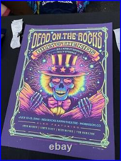 Billy and the Kids Red Rocks (Dead On The Rocks) Half Hazard Poster