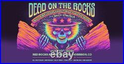 Billy & the Kids RED ROCKS poster #/500 grateful dead STRINGS