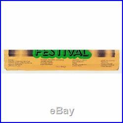 Black Sabbath / Grateful Dead 1970 Hollywood Music Festival Promo Poster (UK)