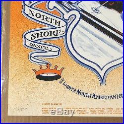 Bob Fried Grateful Dead Trip and Ski Poster RARE Lake Tahoe CA Kings Beach Bowl