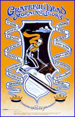 Bob Fried Grateful Dead Trip and Ski Poster RARE Original! Kings Beach Bowl