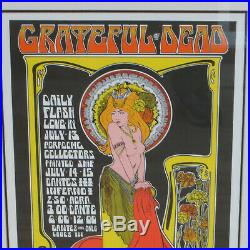 Bob Masse Grateful Dead 463/1000 Signed Artist Edition Lithograph Print with COA