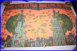 Bob Weir Phil Lesh Duo Tour Poster Lmtd. 1 Sheet #ed Grateful Dead Nyc Low #