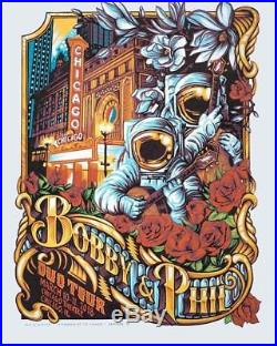 Bobby & Phil Duo Tour Chicago AJ Masthay Poster Print SOLD OUT
