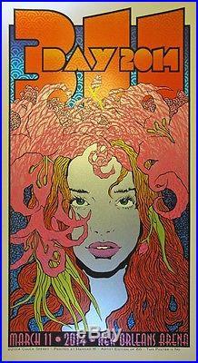 CHUCK SPERRY 311 Poster 2014 SILKSCREEN 311 Day POSTER AP #/60