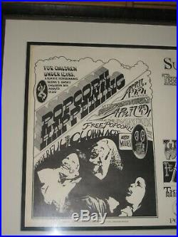 Charlatans Mystery Trend Fillmore Poster 1967