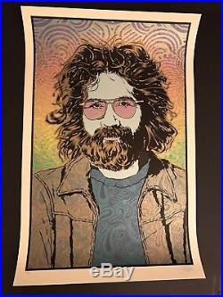 Chuck SPERRY JERRY Garcia 3 Print Poster SET LIMITED Edition Grateful Dead X/500