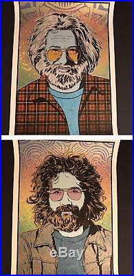 Chuck SPERRY JERRY Garcia 4 Poster SET LIMITED Edition Grateful Dead X/500