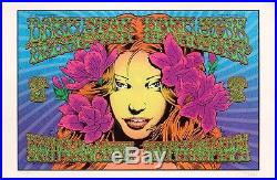 Chuck Sperry 2010 Dark Star Orchestra Poster Signed 145/150 Grateful Dead