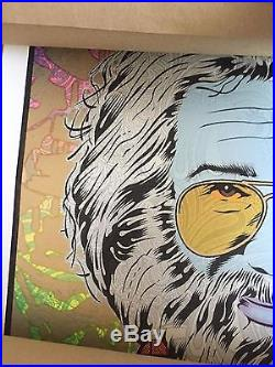 Chuck Sperry Jerry Garcia 3 (Autumn) Poster Tangled Up In Blue Signed Numbered
