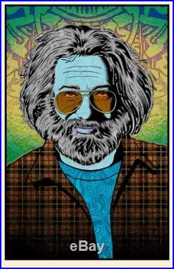 Chuck Sperry Jerry Garcia 3 Tangled Up In Blue Print Poster Grateful Dead