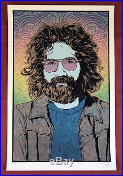 Chuck Sperry Jerry Garcia 4 Season Print Set Grateful Dead poster (4 prints)