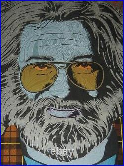 Chuck Sperry Jerry Garcia Art Print Grateful Dead Poster Muses Autumn