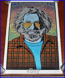 Chuck Sperry Jerry Garcia Autumn 2017 Art Print Grateful Dead Poster Muses S#500