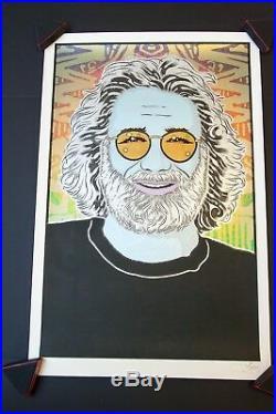 Chuck Sperry Jerry Garcia Grateful Dead Built to Last Winter Art Print Poster