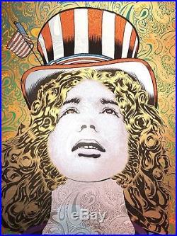 Chuck Sperry Jerry Garcia Grateful Dead Silkscreen Poster Art Print Spring Jerry