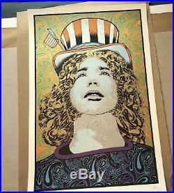 Chuck Sperry Jerry Garcia Grateful Dead Spring Captain Trips Art Print Poster
