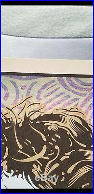 Chuck Sperry Jerry Garcia Orpheus Poster Grateful Dead Art Print