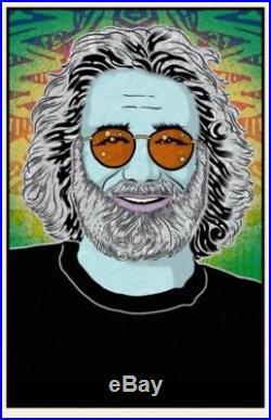 Chuck Sperry Jerry Garcia Poster Art Print Rare