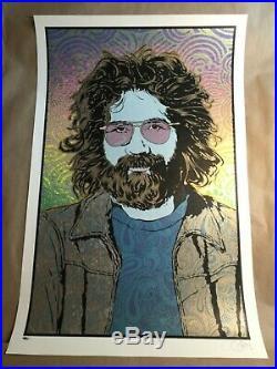 Chuck Sperry Jerry Garcia Summer Orpheus #2 Poster Print Grateful Dead Tribute