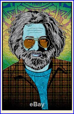 Chuck Sperry Jerry Garcia Tangled up in Blue Grateful Dead Print Poster Spusta