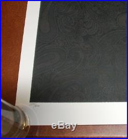 Chuck Sperry Jerry Garcia WINTER 2017 Art Print Grateful Dead Poster Muses S#500