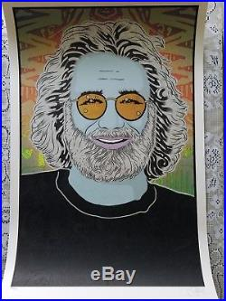 Chuck Sperry Jerry Garcia poster complete Set of 4 / matching #s
