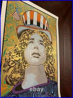 Chuck Sperry Spring Jerry Jerry Garcia Poster Grateful Dead