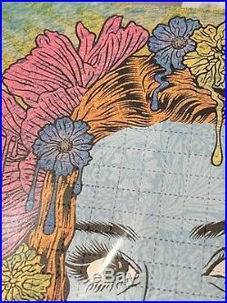 Chuck Sperry The Oracle Blotter EMEK Poster Screen Print Spoke Art Wood Poster