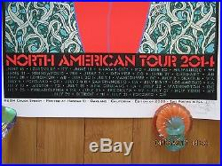 Chuck Sperry-nick Cave American Tour 2014 Poster #1906/2000 Signed-vip Pass-new