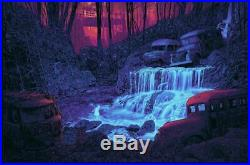 DANIEL DANGER Grateful Dead. There is a fountain. Scarlet Begonia AP Ed Poster