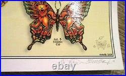 DEAD AND COMPANY POSTER Summer Tour 2019 EMEK AE Ed. S/N Doodled #156/200 MINT