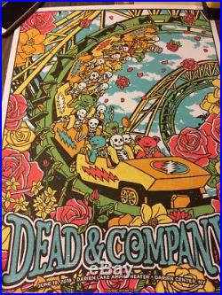 DEAD & CO Darien Lake POSTER! June 19 2018 Awesome Mint #ed
