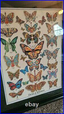 DEAD & COMPANY 2019 Summer Tour VIP Butterfly Poster Print by EMEK Grateful Dead